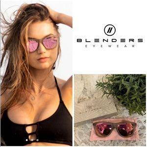 Rose Gold Mirrored Polarized Unisex Sunglasses